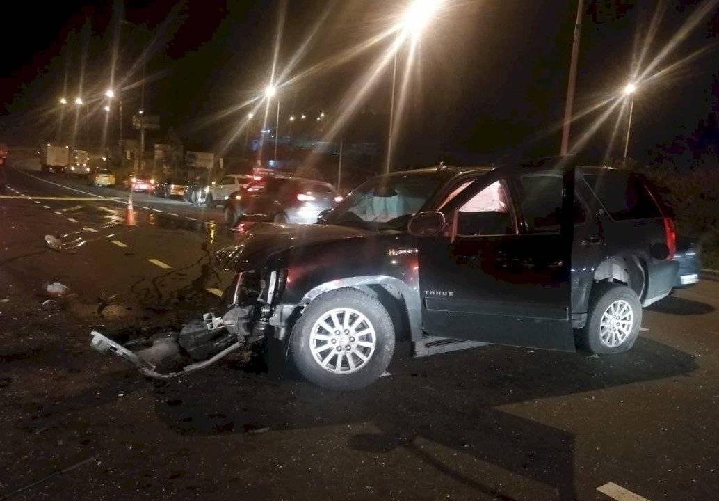 Accidente en la avenida Simón Bolívar eran militares