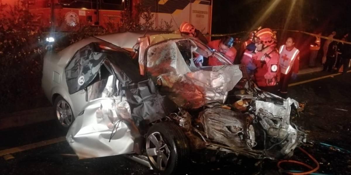 Quito: Fallecidos en accidente en la avenida Simón Bolívar eran militares
