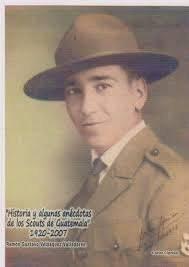 Carlos Cipriani, fundador de los Boys Scouts Guatemaltecos, organización que después se denominó Asociación de Scouts de Guatemala. Foto: Internet