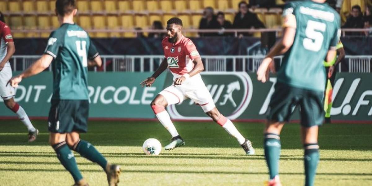 Maripan fue titular en agónico triunfo del Monaco en la multicontinental Copa de Francia