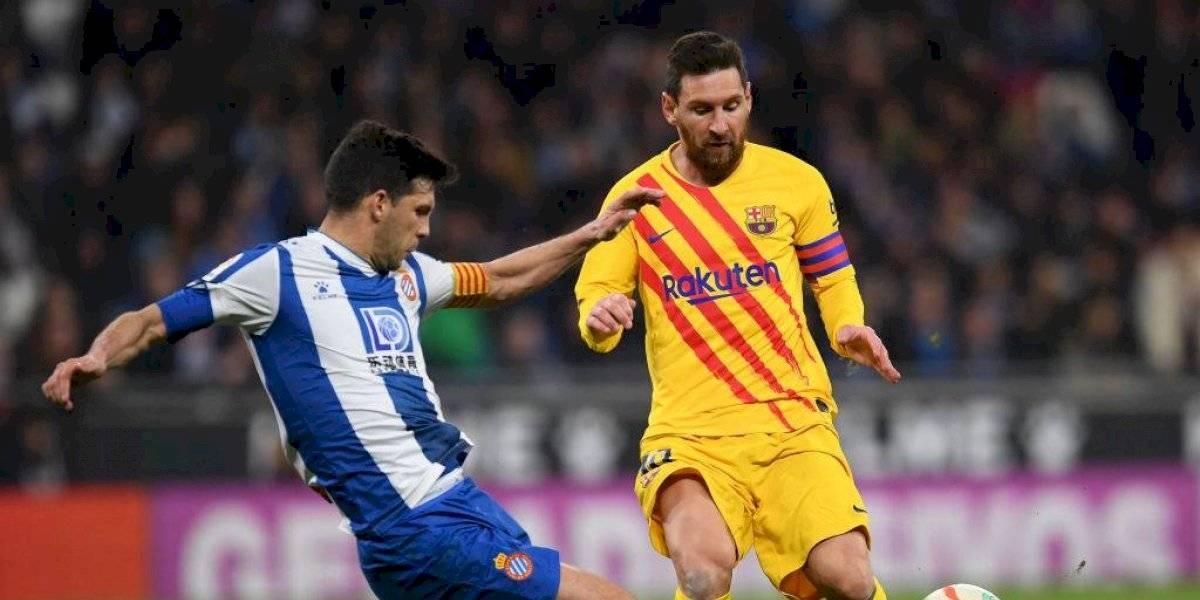 Barcelona sufre empate de último minuto ante el Espanyol