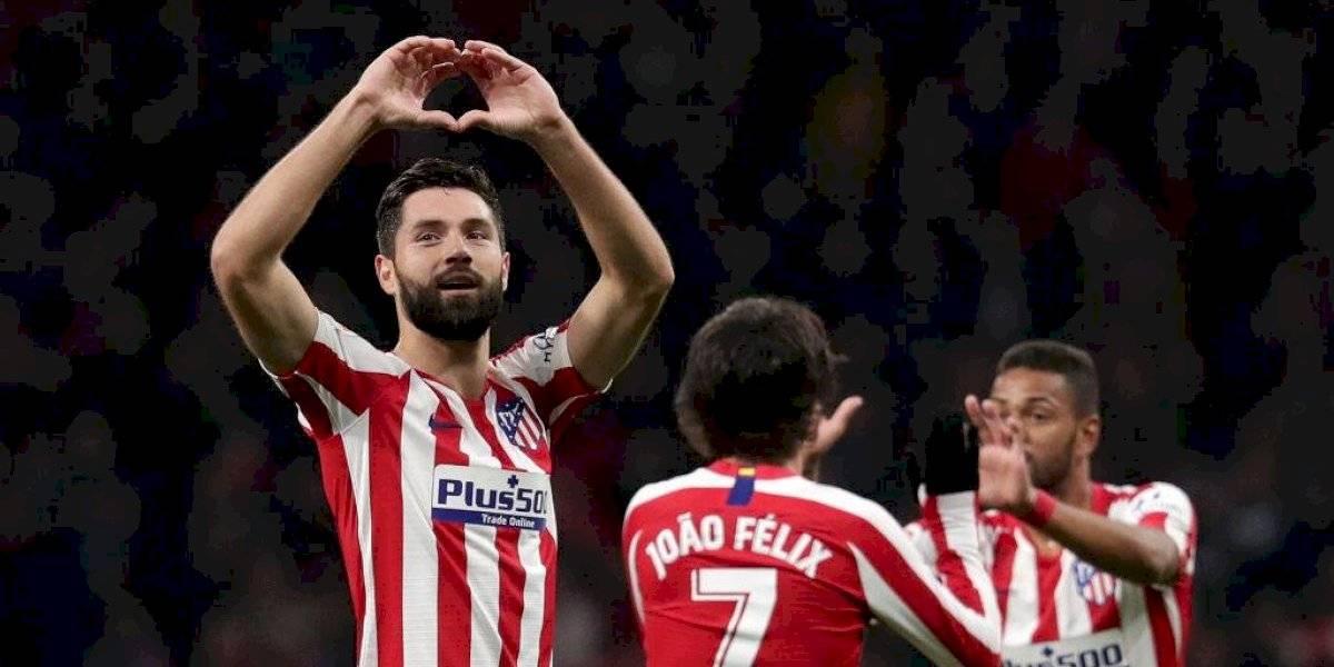 Atlético de Madrid, con Herrera, recupera el podio en España