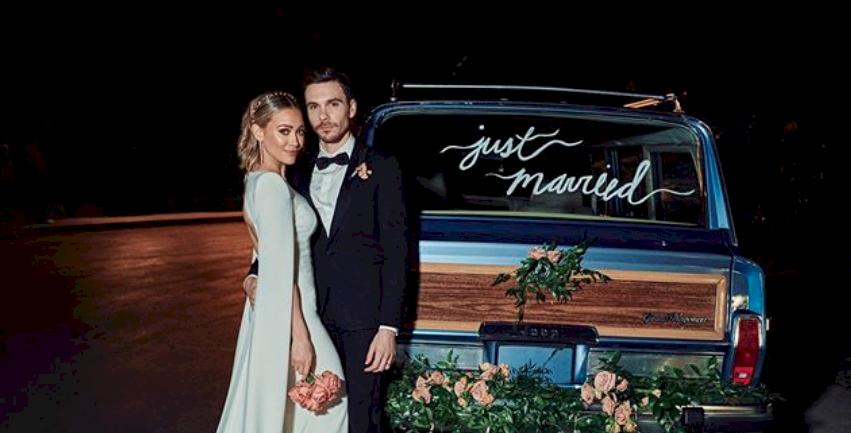 Hilary Duff y Matthew Koma revelan íntimos momentos de su luna de miel