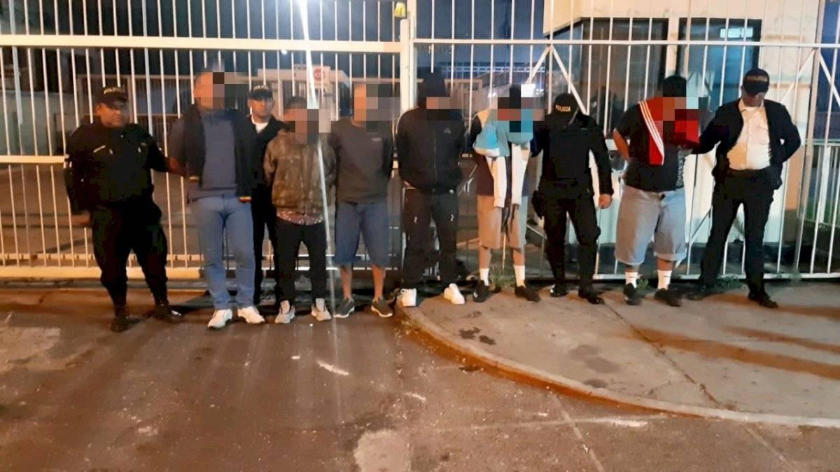 PNC desarticula a banda de robacarros. Foto: PNC