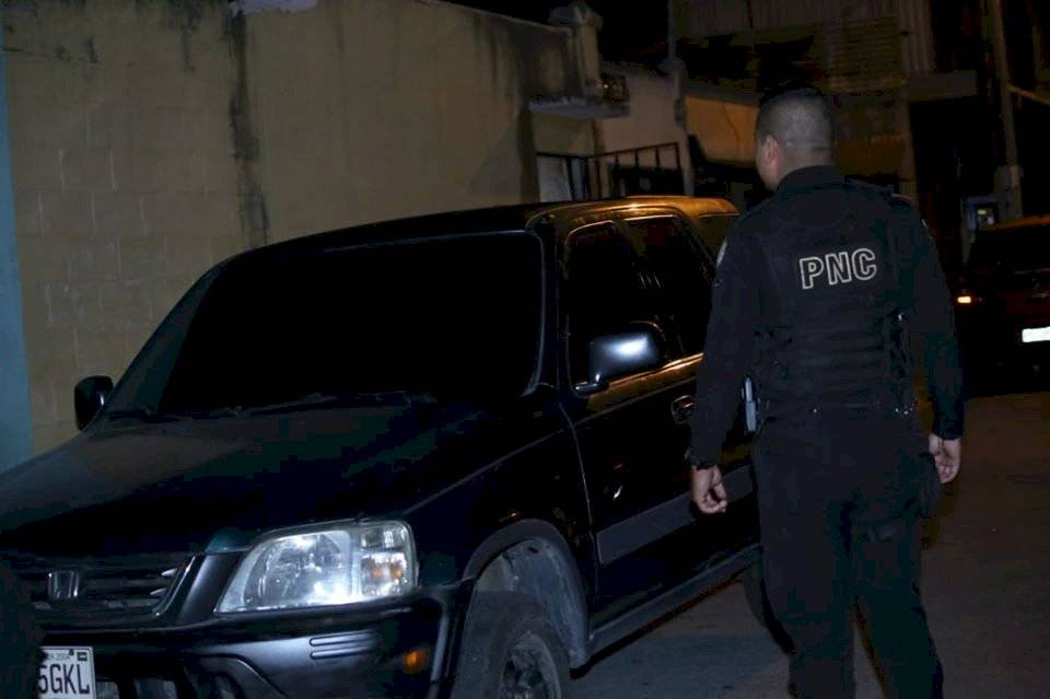 PNC recupera vehículo robado. Foto: PNC