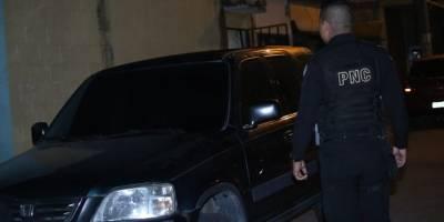 PNC recupera vehículo robado.
