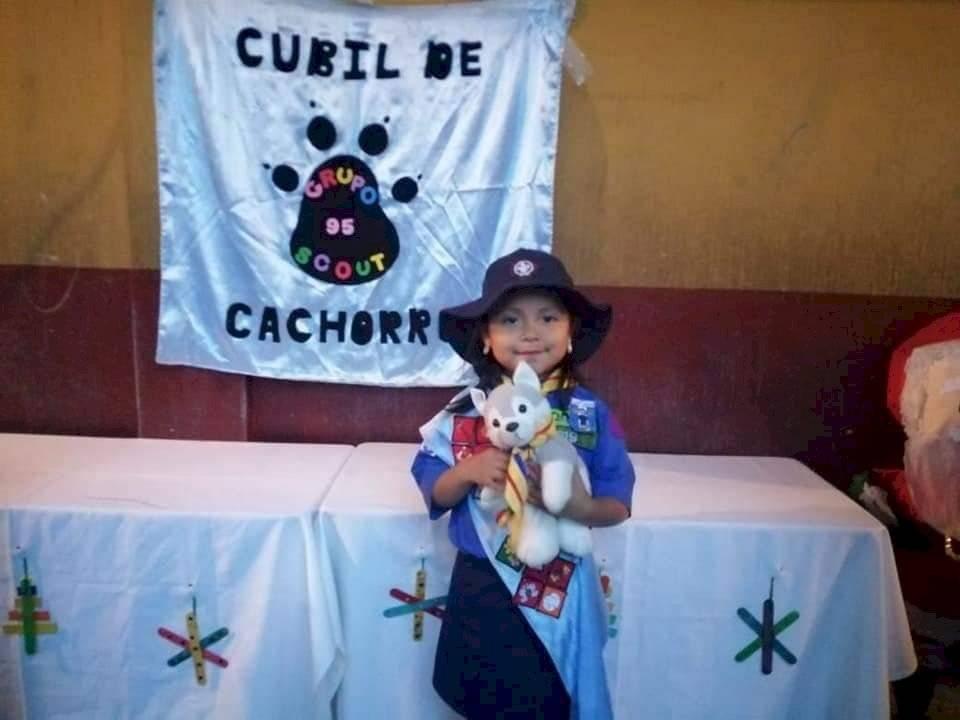 Cachorro de los scouts. Foto: Scouts de Guatemala