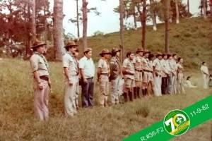 Grupo de scouts durante una actividad.