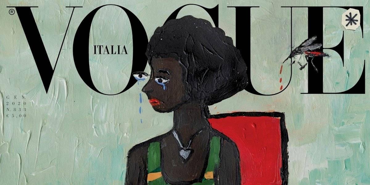 Vogue Italia lanza edición sin fotos para concientizar sobre el medio ambiente
