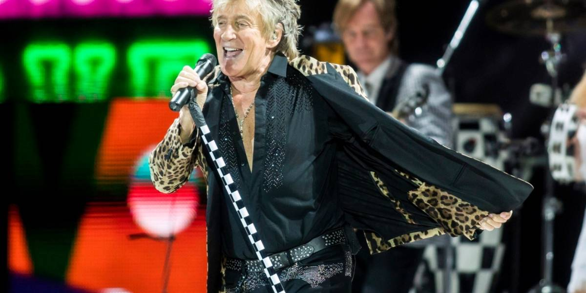 Rod Stewart es acusado por agredir a guardia en un hotel de Palm Beach
