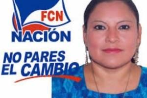 Alba López, excandidata alcaldesa