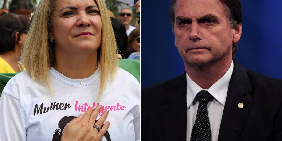 Ministério Público do Rio quer ouvir ex-mulher de Bolsonaro