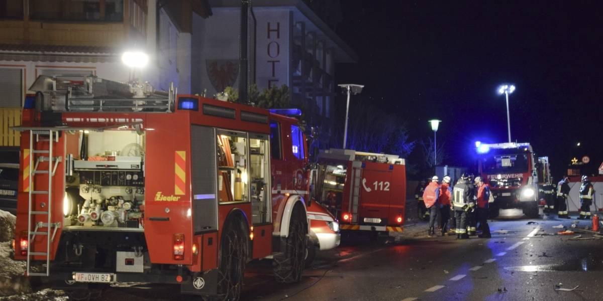 Conductor ebrio atropella a jóvenes turistas alemanes en Italia