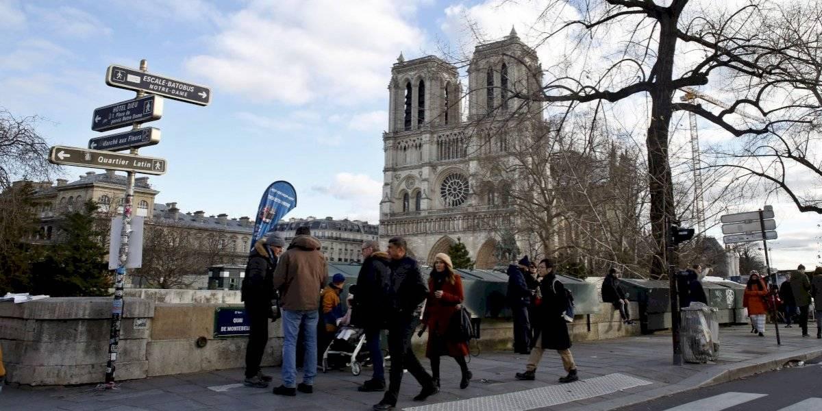 Queda mucho para reconstuir la Catedral de Notre Dame