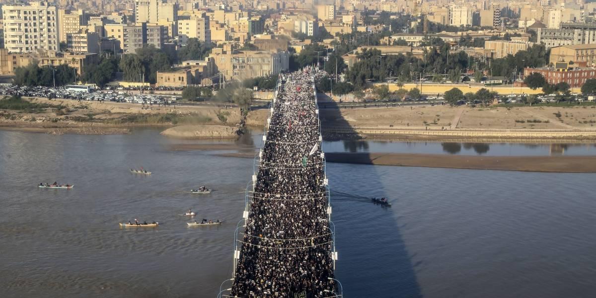 Miles asisten al funeral del general iraní Soleimani