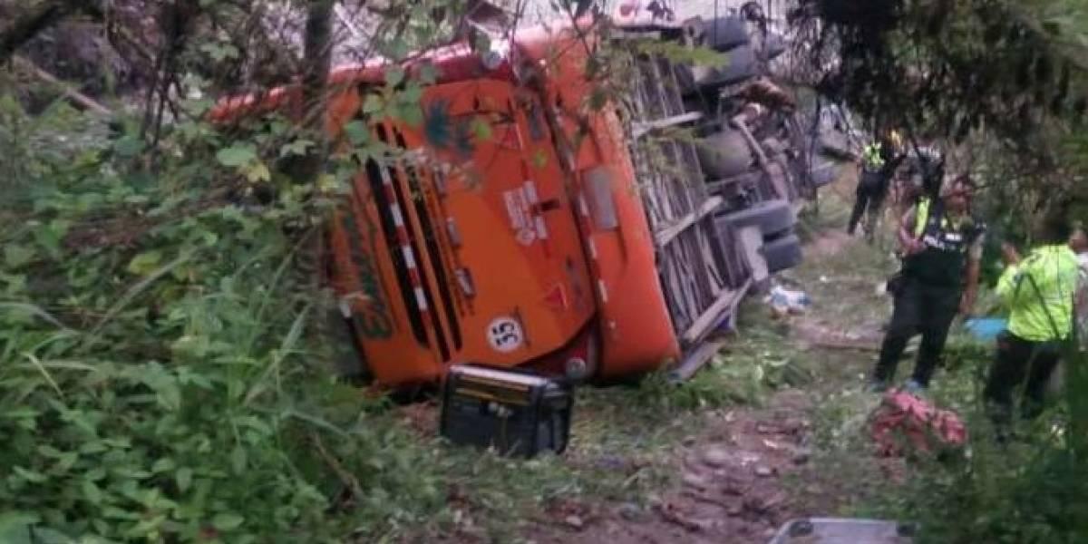 Se suspenderá ruta de Trans Esmeraldas tras fatal accidente