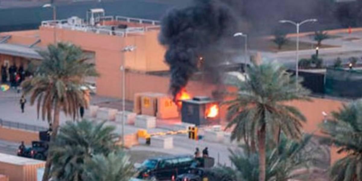 Cinco civiles heridos por el impacto de misiles en Bagdad