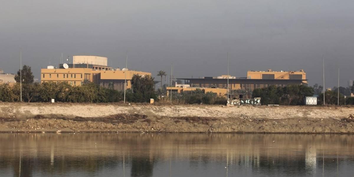 Cohetes impactan cerca de la embajada estadounidense en Irak