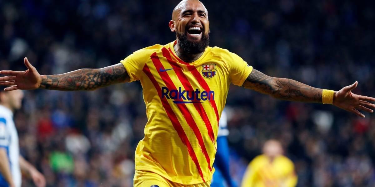 """Arturo Vidal, el """"Rey de la efectividad"""" que sólo es superado por Lionel Messi"""