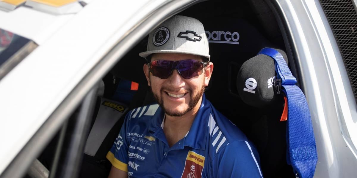 Sebastián Guayasamín culminó con éxito la primera etapa en el Rally Dakar