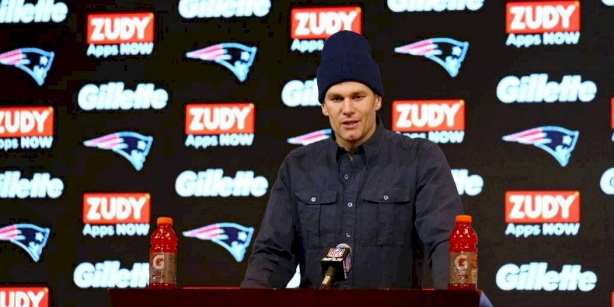 """Brady no piensa en """"jubilarse"""" a pesar eliminación de Patriots"""