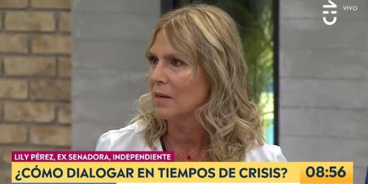 """""""Acepté feliz"""": Lily Pérez debutó como la nueva panelista de """"Contigo en la Mañana"""" en CHV"""
