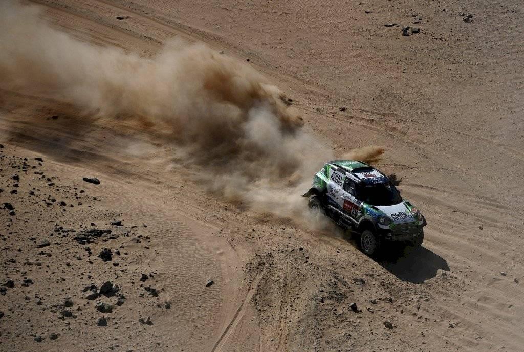 El lituano Vaidotas Zala es el sorprendente primer líder del Dakar 2020 en categoría autos.