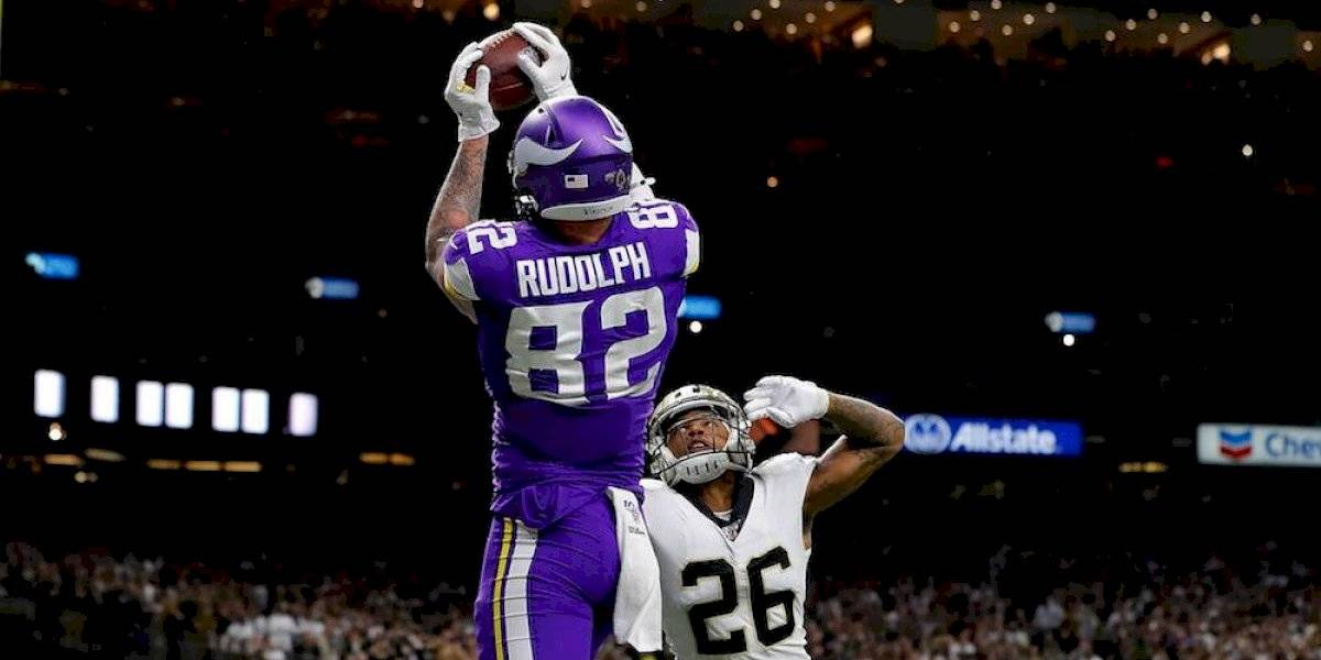 Vikings acaba con ilusiones de Drew Brees y Saints