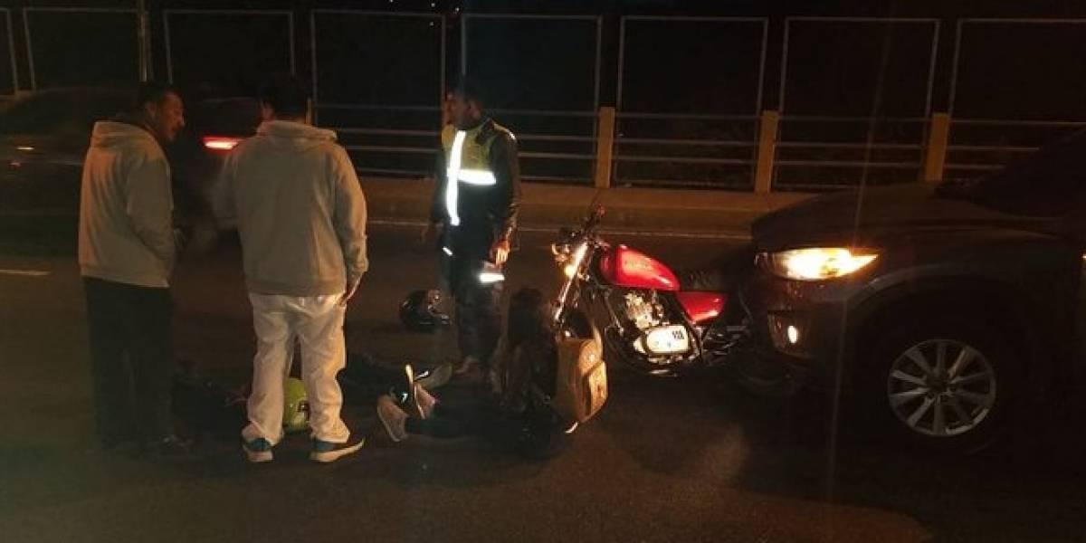 Choques y vehículos con fallas mecánicas complican el tránsito este lunes