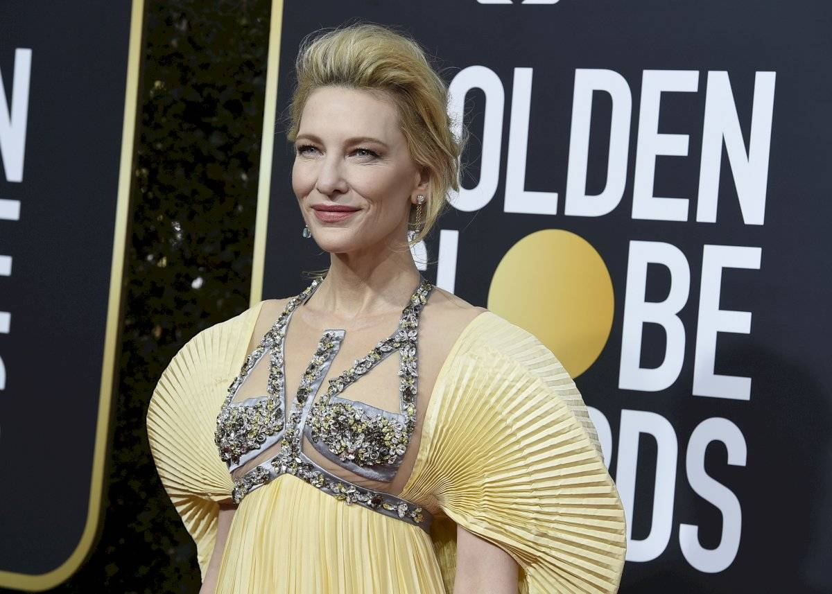 Cate Blanchett llega a la ceremonia de los Globos de Oro, el domingo 5 de enero del 2020 en Beverly Hills, California. (Foto por Jordan Strauss/Invision/AP)