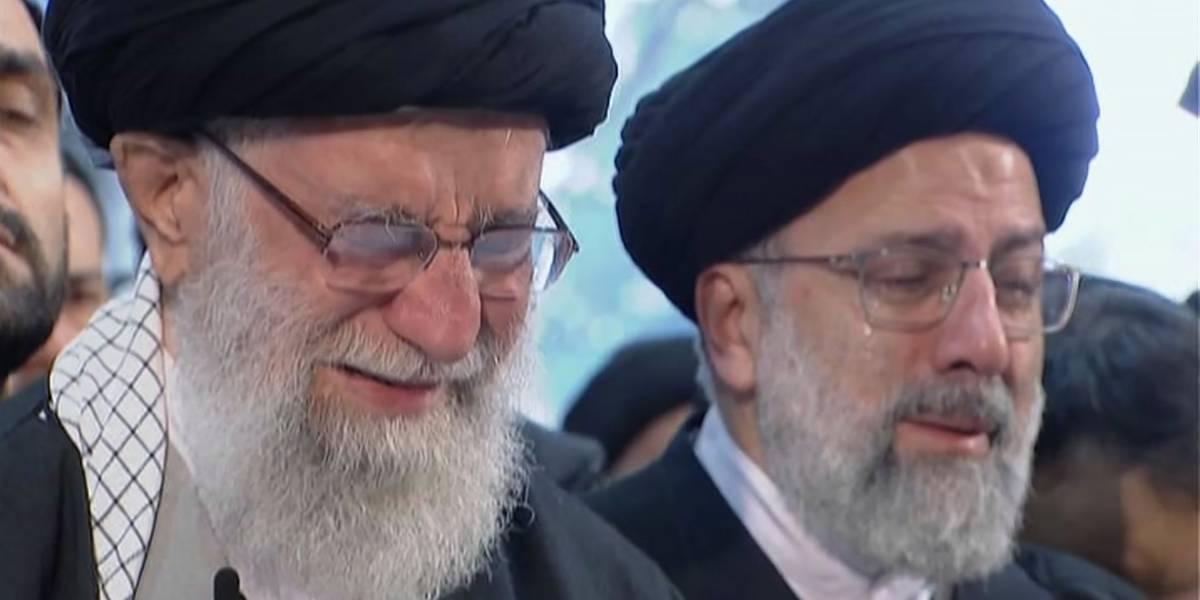 Entre llantos del líder iraní: Multitud se despide del General Soleimani mientras siguen las amenazas de Trump