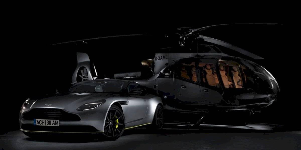 Aston Martin quiere conquistar los aires con un helicóptero