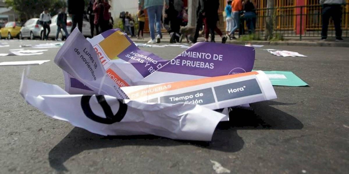 Desde Iquique a Chiloé: cerca de una veintena de colegios suspenden la PSU por manifestaciones a lo largo de Chile