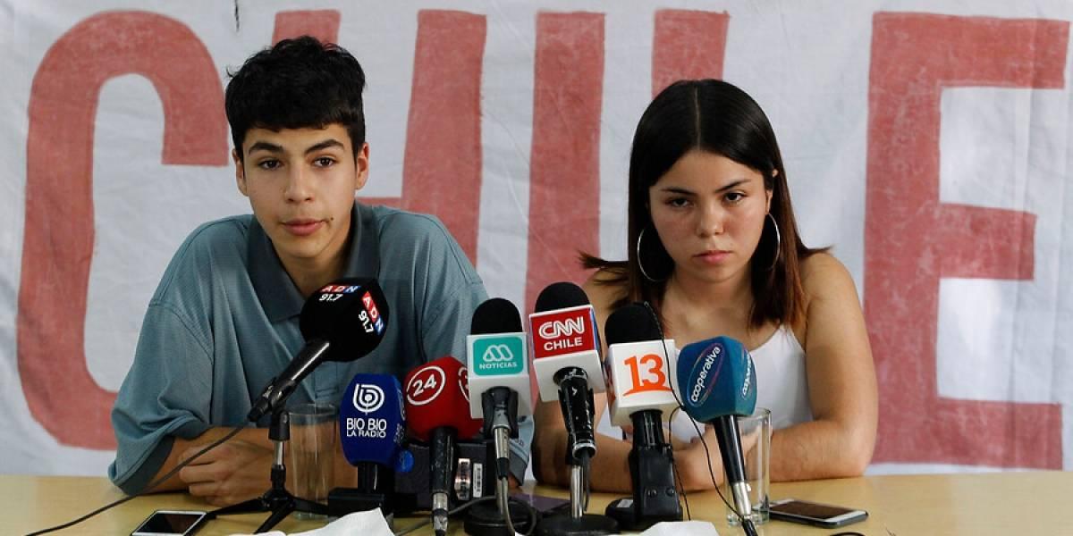 """Aces advierte que el martes """"vamos a tomar las sedes donde se dé la PSU"""""""