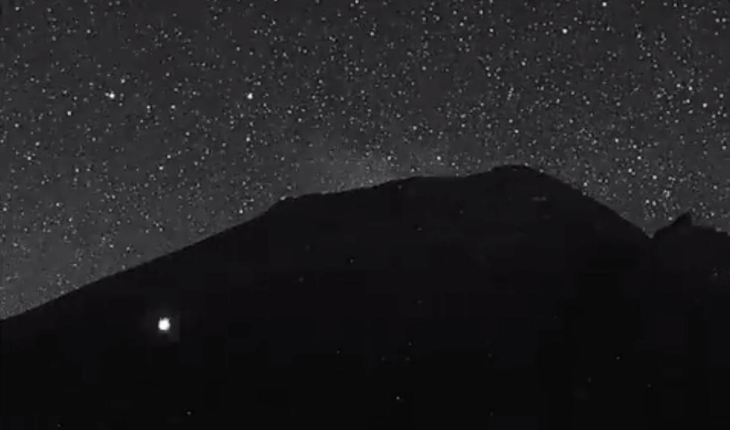 Popocatépetl OVNI