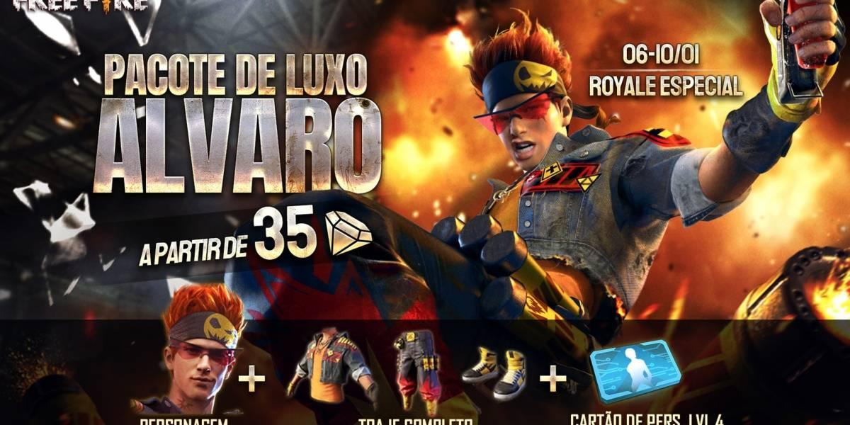 Garena Free Fire libera novo personagem para os jogadores