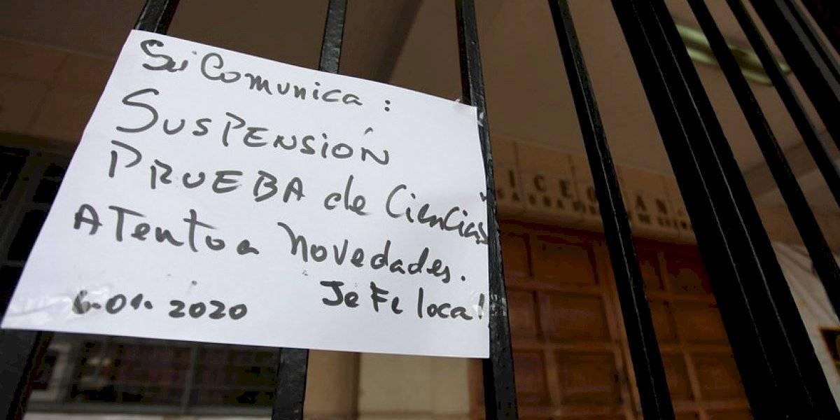 Conoce la lista completa de locales: Demre confirmó que en 81 sedes no se realizó la PSU
