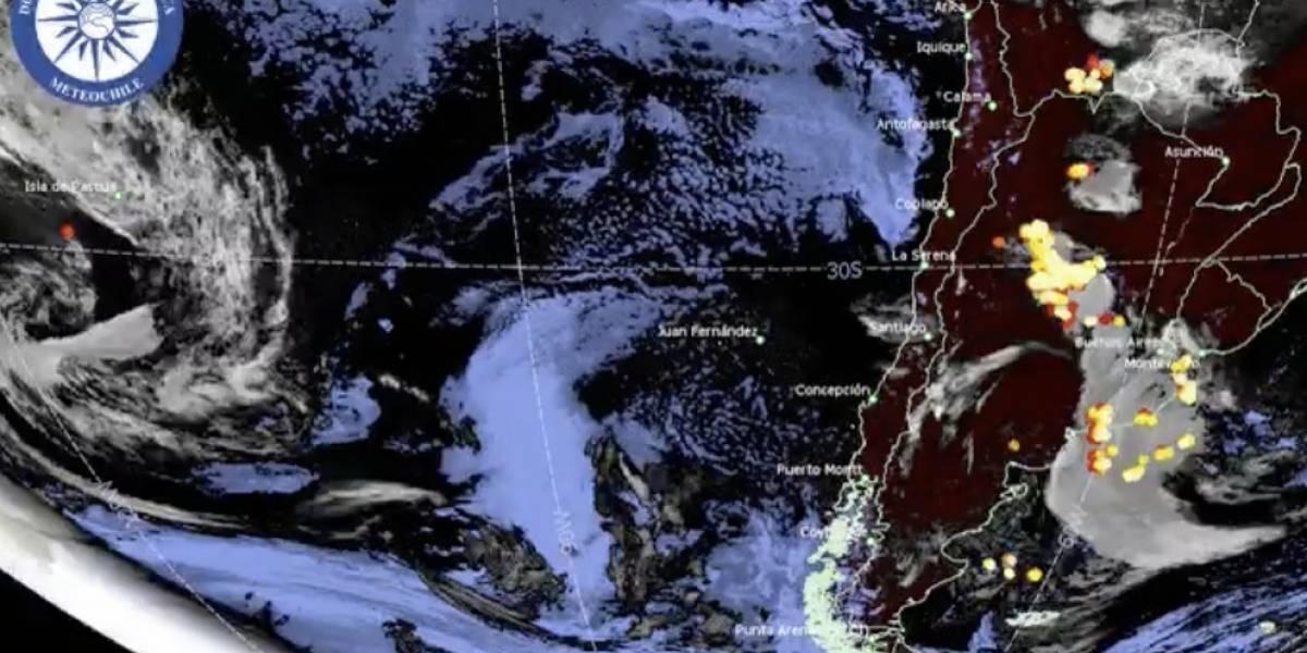 De no creer: el humo de los incendios de Australia llegó a Chile