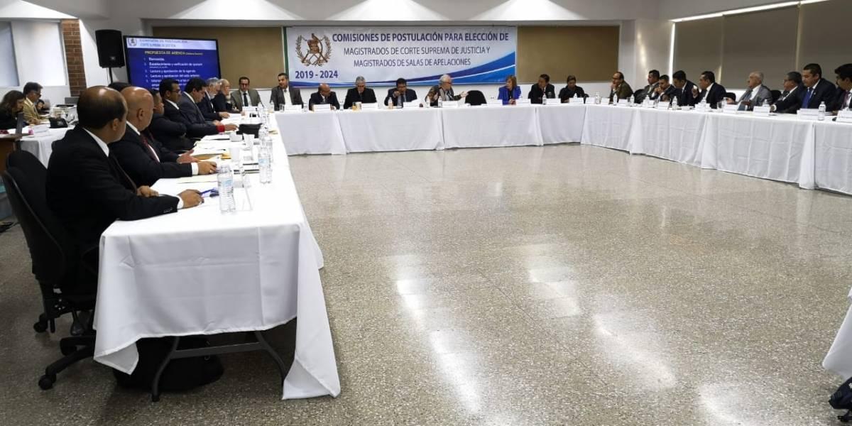 Finaliza periodo para recepción de expedientes de aspirantes a magistrados de la CSJ