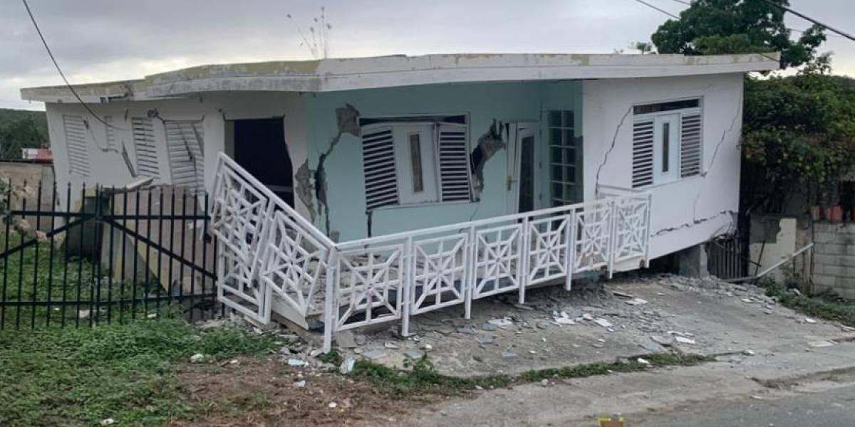 Alcalde de Guánica informa del colapso de varias residencias en el municipio