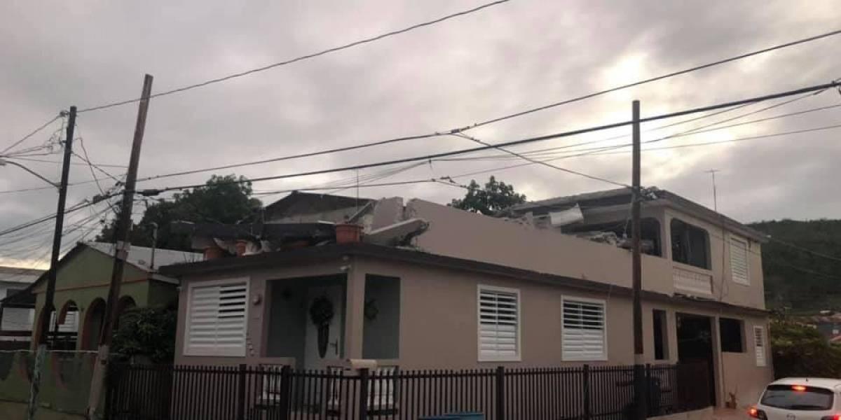 Ciudadanos reportan daños tras fuerte sacudida sísmica