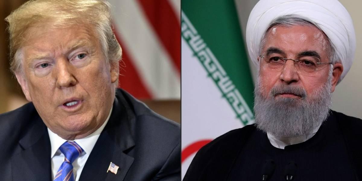 Presidente de Irán le hace una tajante advertencia a Trump