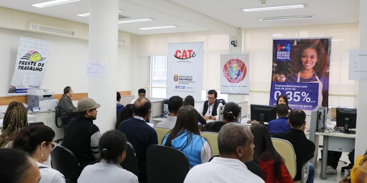 Cate oferece 2 mil vagas de emprego em São Paulo para início de 2020