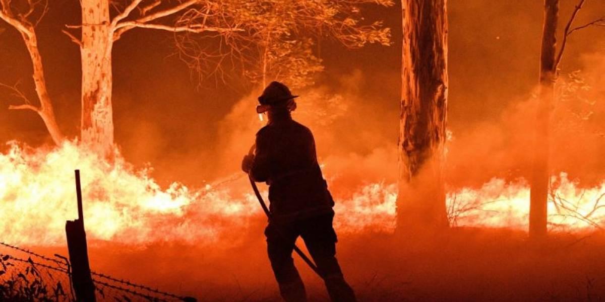 Mapas revelan que incendios en Australia destruirían varios países de Europa