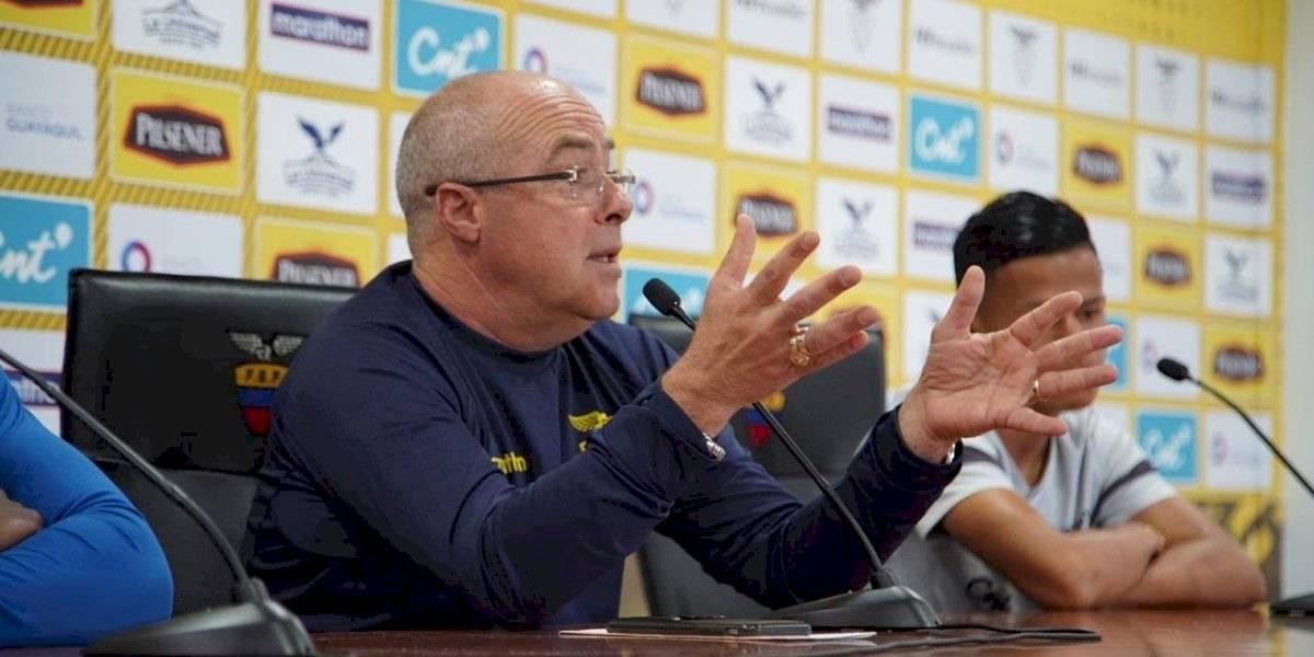"""Jorge Célico: """"En el Preolímpico nadie es favorito y Ecuador va para ganarlo"""""""