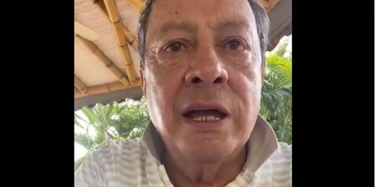 Mario Hernández respondió al trino que causó indignación