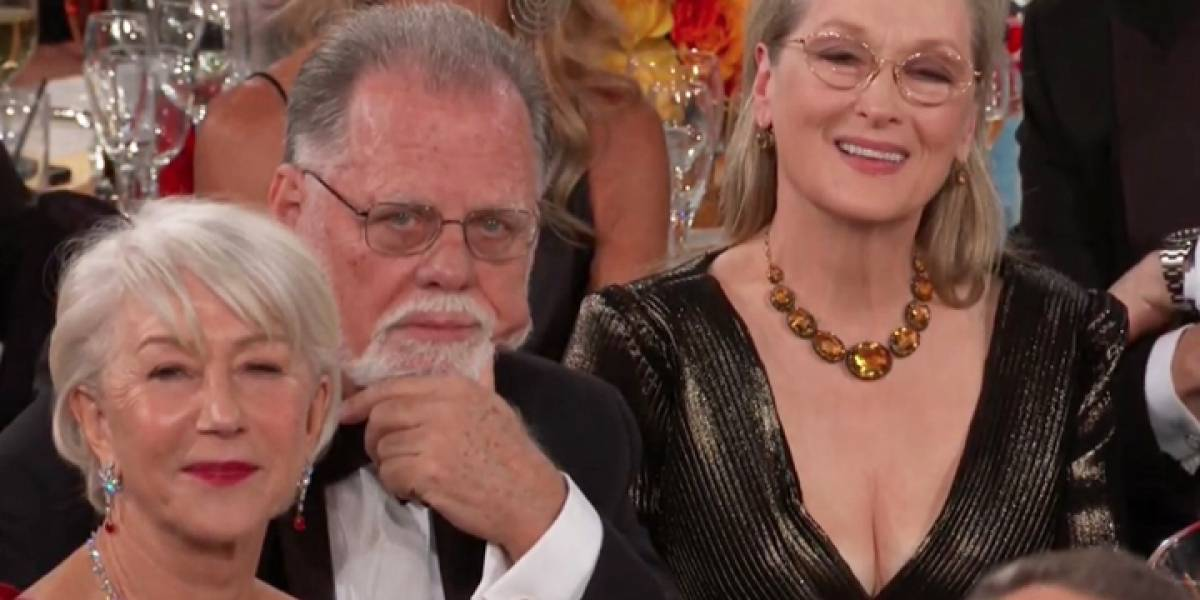 ¡Otra vez! Meryl Streep protagoniza imagen viral en los Golden Globes 2020