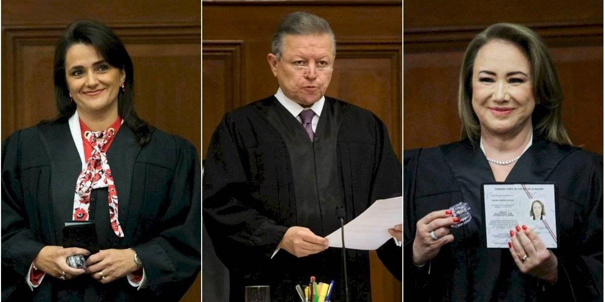 ¿Quiénes son los ministros que conforman la Suprema Corte?