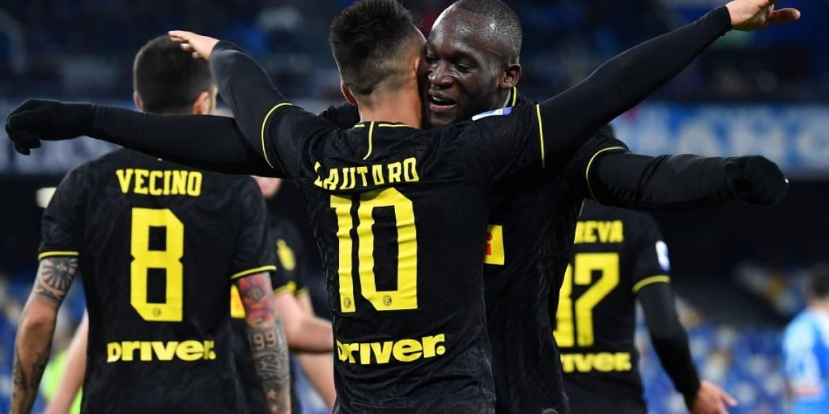 Inter opaca el triunfo de la Juventus y retoma el liderato de la Serie A