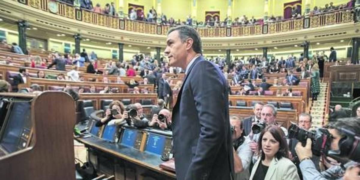 Congreso español no le  dio los votos a Sánchez